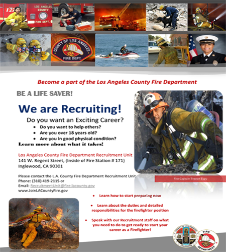 FF Recruitment Flier